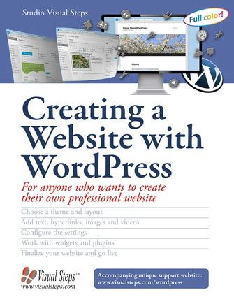 Creating A Website For Free by Creating A Website With Visual Steps Publishing