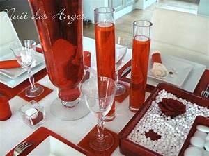 Décoration Mariage Rouge Et Blanc : deco table rouge et blanc mariage recherche google ~ Melissatoandfro.com Idées de Décoration