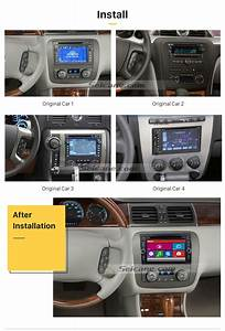 Chevrolet Equinox Dvd Player Gps Navigation System With Radio Tv Bluetooth