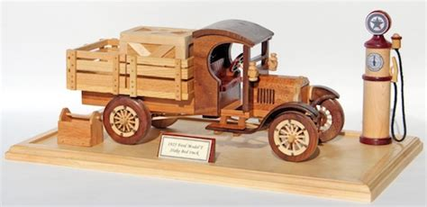 ford model  truck woodworking pattern
