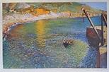 Laura Knight fine art print for sale Lamorna Cove 1935