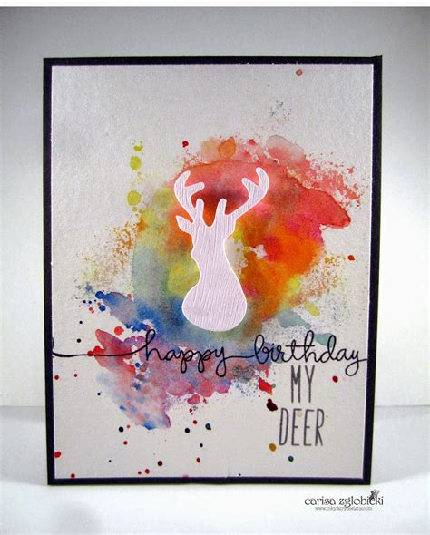 Check spelling or type a new query. Inky Fairy Designs: Watercolor Wednesday - WPlus9 Birthday Card