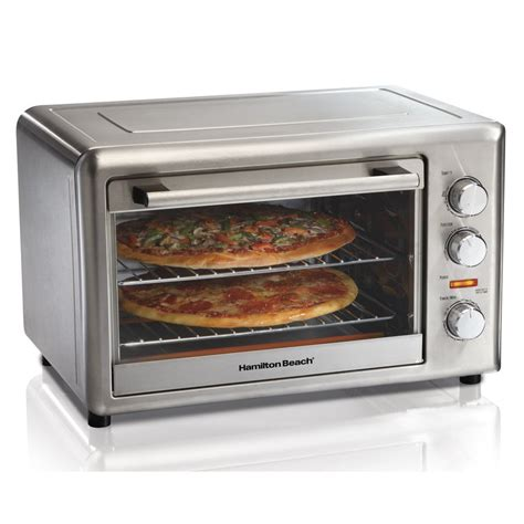 countertop convection microwave hamilton 31103 convection toaster oven w rotisserie