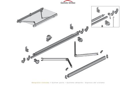 sunsetter awning replacement parts retractable awning parts  repair sun setter