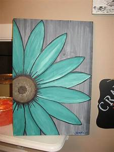 Easy Canvas Paintings Flowers | www.pixshark.com - Images ...