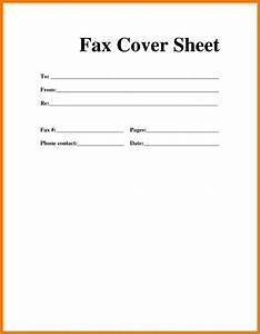 9 examples of fax cover sheet