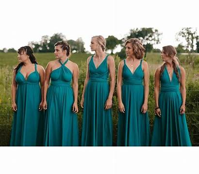 Bridesmaid Dresses Infinity Convertible Dusty Jumpsuit Sage