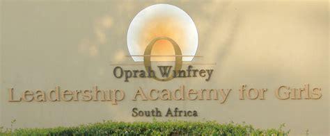 kudos  oprah leadership academy good news daily