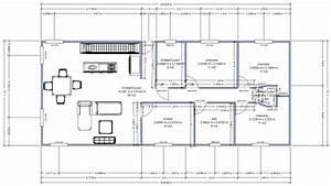 idée plan maison en longueur. superbe idee plan maison en longueur ... - Idee Plan Maison En Longueur