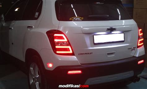 Chevrolet Trax Modification by Chevrolet Trax Putih Modif Kecil2an