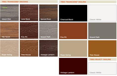 Trex Transcend Decking Colors by Trex Flooring Colors Alyssamyers