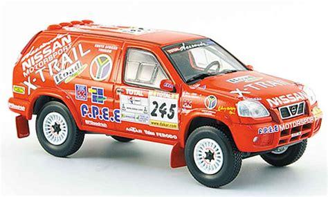 nissan dakar nissan x trail no 245 rally dakar 2002 norev diecast model
