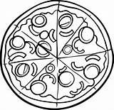 Pizza Coloring Hut Printable Drawing Clipart Colouring Disegno Clipartmag Albanysinsanity Colour Getdrawings Di Colorare Da Sketch Getcolorings Articolo sketch template