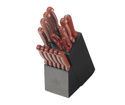 Hells Kitchen Knives by 22 99 Was 79 99 Hell S Kitchen Knife Block Set 15