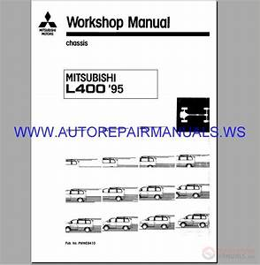 Mitsubishi Motors L400 U0026 39 95 Chassis Electrical Wiring