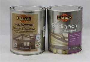 Badigeon Poutre Et Boiserie : badigeon poutres et boiseries lib ron 1l lib ron bad pout ~ Premium-room.com Idées de Décoration