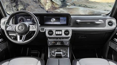 Mercedes Interior 2019 by 2019 Mercedes G Class Interior Revealed More Space More