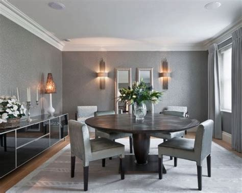 Grey Dining Room Home Design Ideas, Pictures, Remodel And