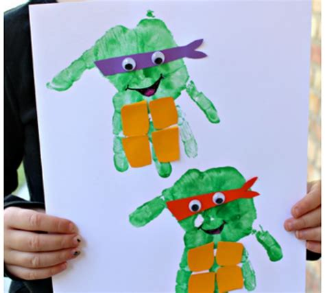 cowabunga dude check    ninja turtle crafts