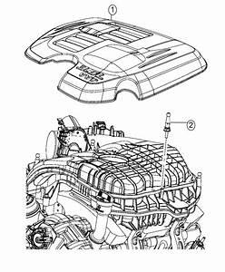 Chrysler 300 Cover  Engine   V6 Engine Cover