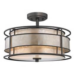 decoration ideas modern contemporary semi flush mount ceiling light with drum shade combine with