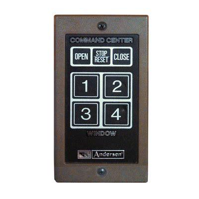 command center andersen windows  doors andersen  series awning electric opener
