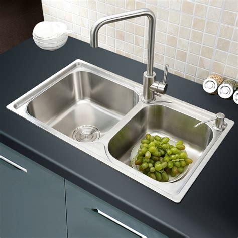 simple kitchen sink modern simple 304 stainless steel sink bowl kitchen 2239