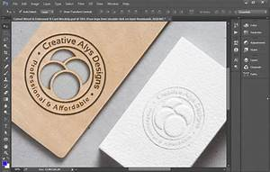 cutout wood embossed business card mockup creative alys With cutout business cards