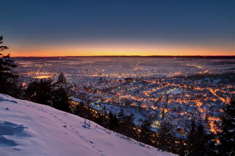 oslo norway sunrise sunset nature landscapes photography