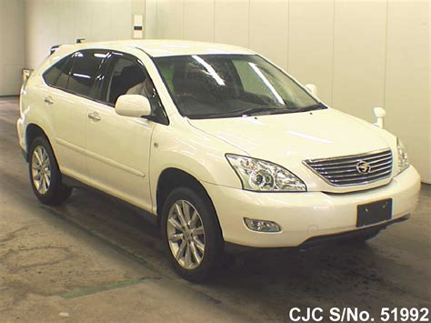 2011 toyota harrier pearl for sale stock no 51992 used cars exporter
