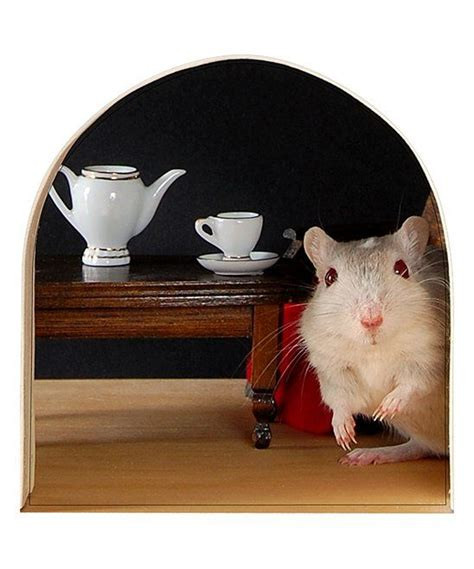 mouse hole  tea decal today