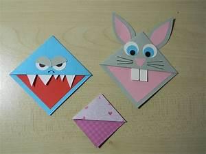Marque Page En Papier : marque page origami enfants marque page origami et monster bookmark ~ Melissatoandfro.com Idées de Décoration