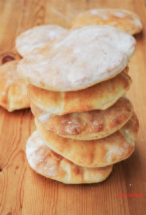 Sié E Massant Pita Brote Oder Brottaschen Füll Sie Iss Sie Lieb Sie