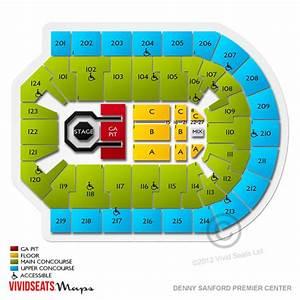 Denny Sanford Premier Center Tickets Denny Sanford