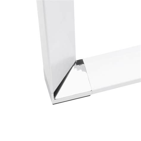 bureau d angle verre bureau d 39 angle design quot hovik quot verre blanc