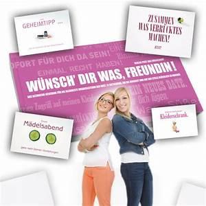Weihnachtsgeschenke Beste Freundin : gutscheinbuch f r beste freundin w nsch dir was tolles dankesch n ~ Watch28wear.com Haus und Dekorationen
