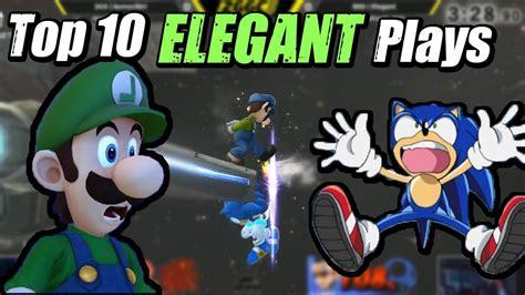 Top 10 Bsd Elegant Plays (smash 4)  Youtube