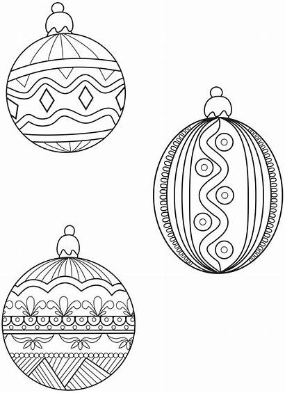 Coloring Ornament Pages Symbols