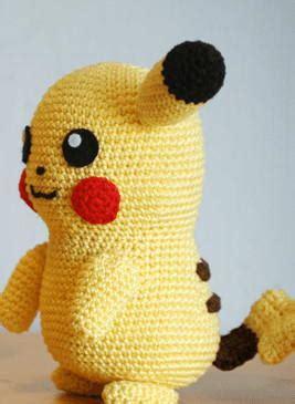 pikachu inspired crochet pattern favecraftscom