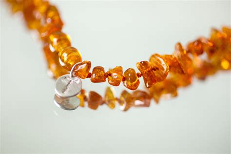 Baby Teething Necklace Personalized Baby Necklace Amber