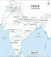 41 best Map of India With States images on Pinterest | Cards, Maps and India map