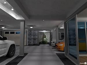 Basement Garage with Poker Room - Apartment ideas - Planner 5D