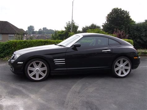 Black Chrysler Crossfire by 2003 Black Chrysler Crossfire Auto 88750 In