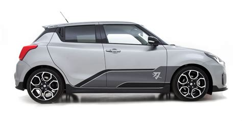suzuki swift sport katana edition officially unveiled