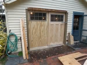 inspiring carriage garage door plans photo building carriage doors from scratch the garage journal