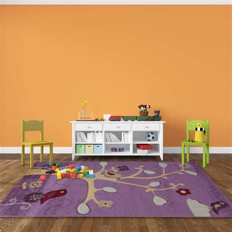 tapis de chambre tapis de chambre pour fille violet happy