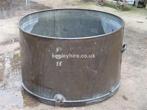 vat tub tubs prop hire 187 large copper vat tub keeley hire