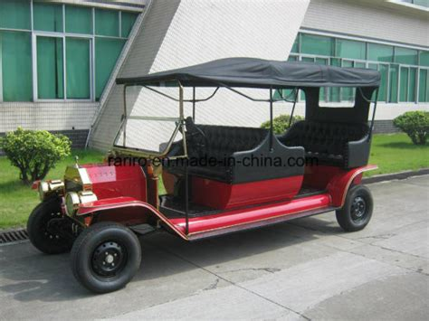 China Ce Approved Electric Vintage Car Classic Buggy Car
