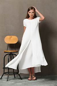 Was Ist Leinen : super feminin und anspruchsvolle dieses weiche wei e baumwolle leinen kleid ist ein must have ~ Eleganceandgraceweddings.com Haus und Dekorationen