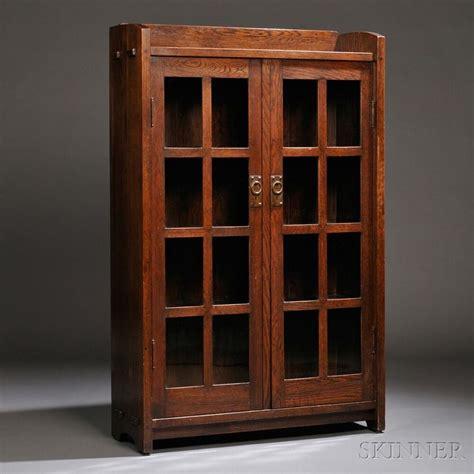 Gustav Stickley Bookcase Sale Number 2661b Lot Number